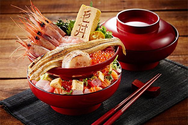 毛丼丼飯專門店 新鮮漁獲 當令海味飽滿鮮甜